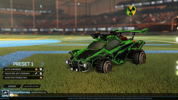 Hier ein Bild - (Bug, grafikfehler, Rocket League)
