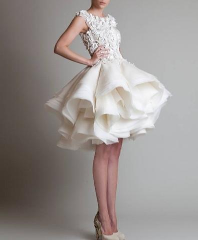 Jabotian wedding dress - (Mode, nähen)