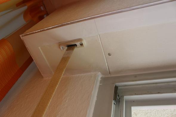 rolladenkasten ffnen mechanismus verschlu deckel. Black Bedroom Furniture Sets. Home Design Ideas