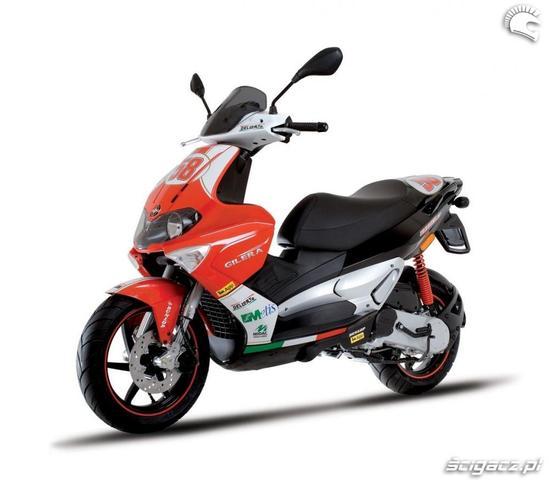 Gilera Runner 50 SP - Simoncelli Replica - (Roller, Motorroller, Spiegel)