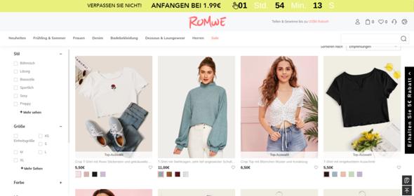 ''Romwe'' online Kleidungsstore sicher? (Mode, Kleidung ...