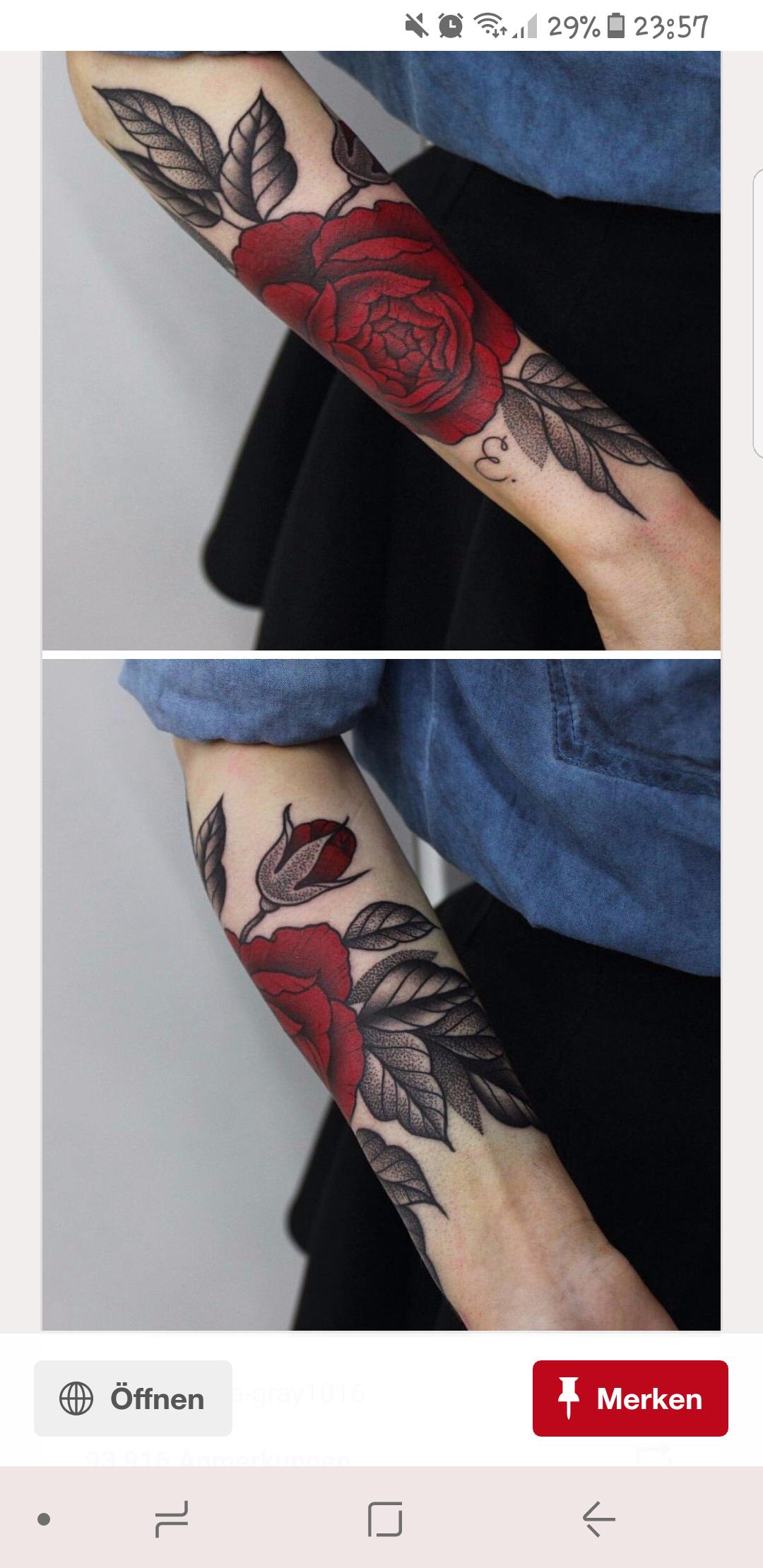 wie viel wird mich dieses rosen tattoo ca kosten preis. Black Bedroom Furniture Sets. Home Design Ideas