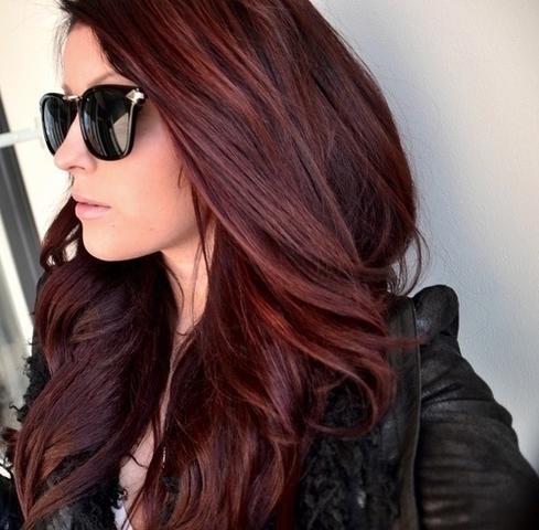 Haare von braun rot auf blond farben
