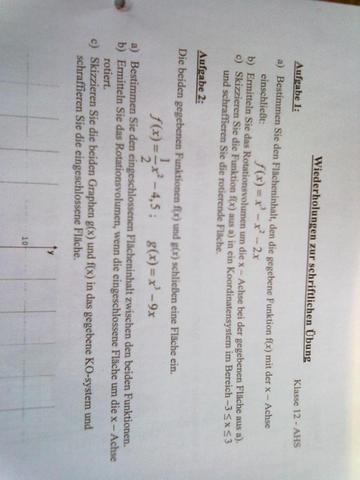Aufgaben - (Mathe, Mathematik)
