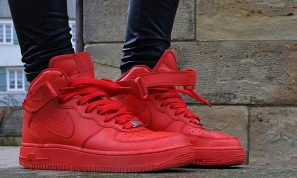 nike air force 1 high rot