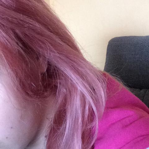 So siehts jetzt paar Tage später aus - (Haare, färben, rot)