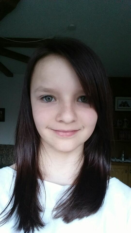 Älter braune Haare, zum vergleichen(vor 2 Jahren) - (färben, Rote Haare)