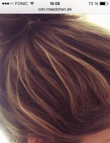 So will ich sie haben  - (Haare, rot)