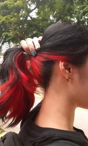 Rote Haarfarbe trotz acne und Rötung im Gesicht?
