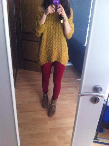meine kreation^^  - (Style, Herbst, Leggings)