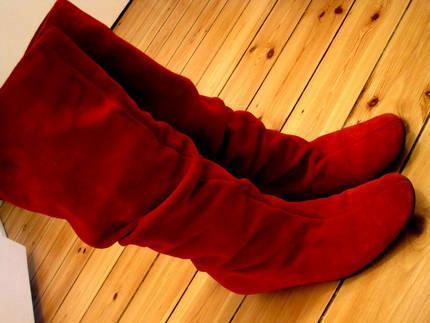 Tanz der Vampire rote Stiefel, so sollen sie nach möglichkeit aussehen - (Mode, Kleidung, Schuhe)