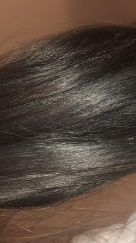 Rote Tönung auf schwarzbraunem Haaren sichtbar?