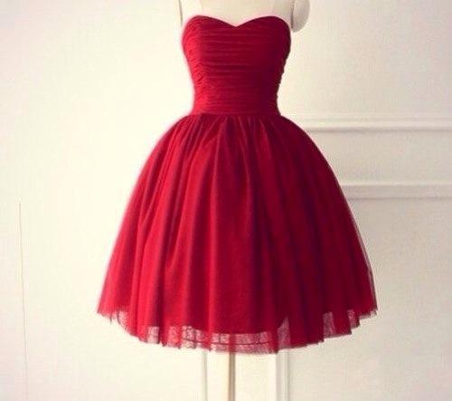 rotes Kleid - (Kleid, rot, Ball)