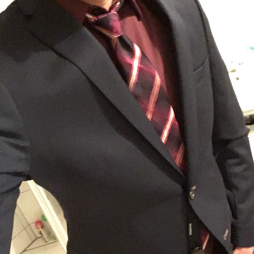 check out 6d077 ea16a Rotes Hemd, rote Krawatte zu blauem Anzug? (Mode, Kleidung ...