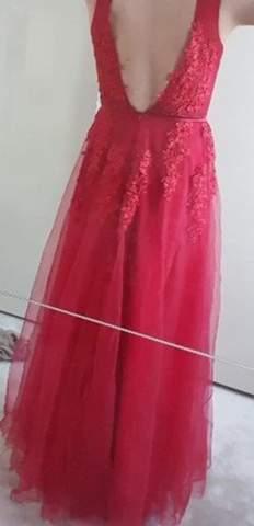 Auf hochzeit kleid rotes Rotes Kleid