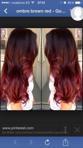 So soll es aussehen! :) - (Haare, färben, Frisör)