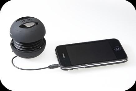 roxobox x mini lautsprecher f r handy iphone k nnen. Black Bedroom Furniture Sets. Home Design Ideas