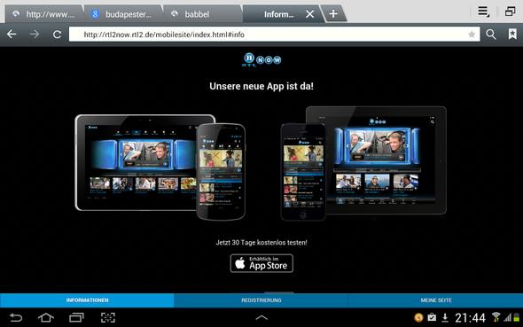 hier ein Screenshot - (Internet, Apps, Webseite)