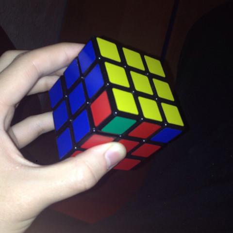 Genau das selbe wie das Erste. - (Cube, Rubiks)