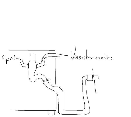 r ckfluss von waschmaschine und sp lmaschine ins. Black Bedroom Furniture Sets. Home Design Ideas