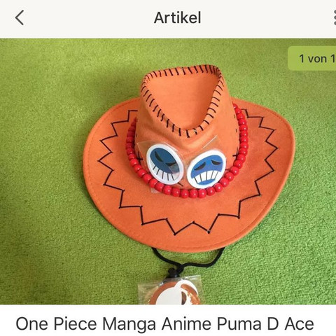 Ace hut - (Cosplay, One Piece, ACE)