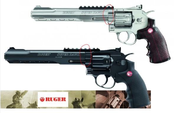 An dieser Stelle klappert der Revolver - (Waffen, Airsoft, Metall)