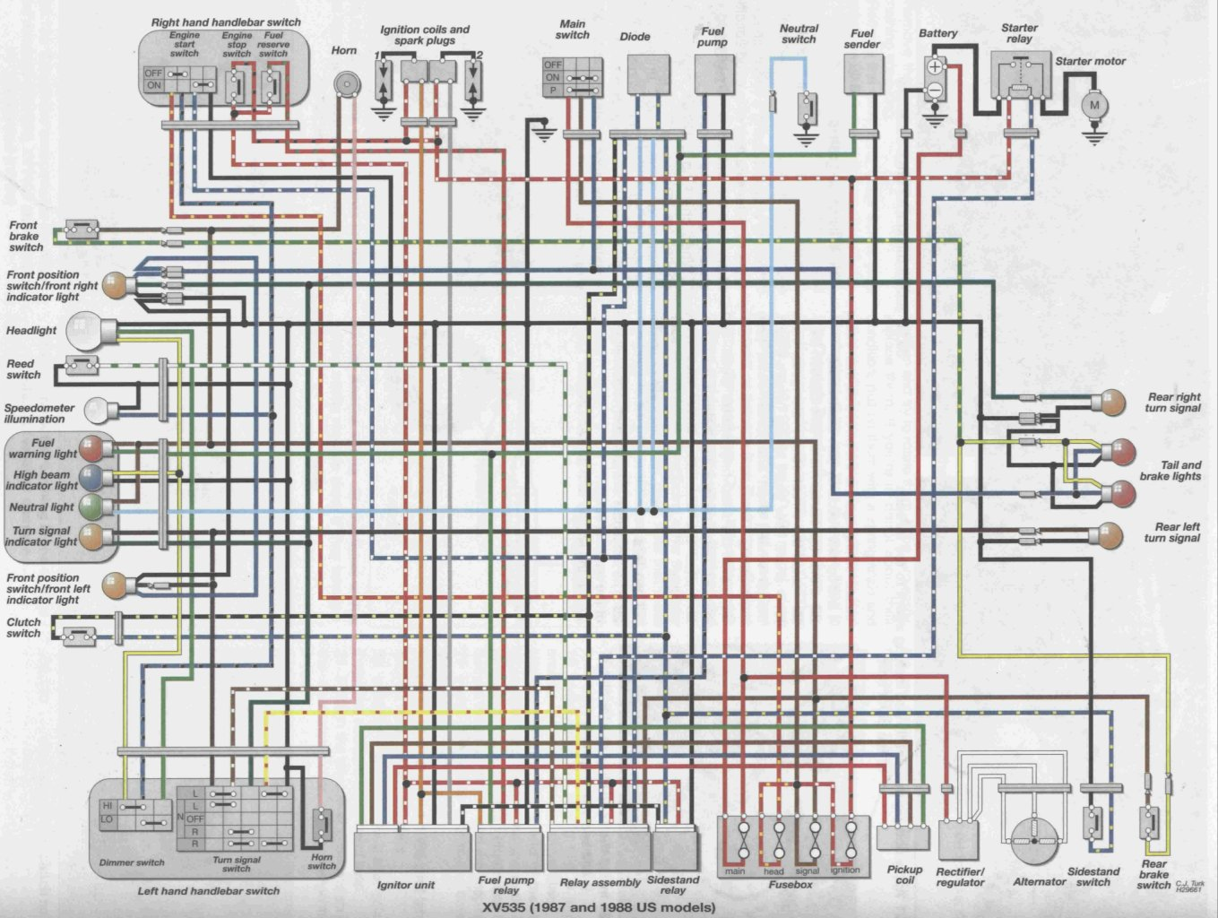 Honda Vt500c Wiring Diagram Another Blog About 1996 Shadow 1984 Color Diagrams Data Base Rh Alfrescosolutions Co
