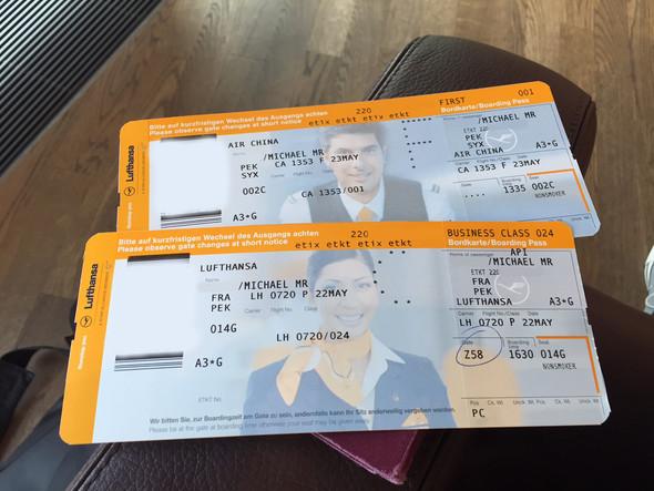 Lufthansa Bordkarte - (Ryanair, Bordkarte)