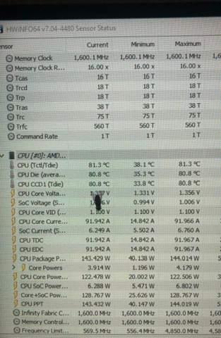 Ryzen 7 5800x , warum so warm?