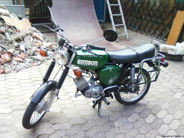 Meine S51 B - (Motorrad, Moped, DDR)