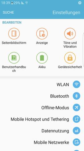 Screenshot - (Bildschirm, S7,  S7 edge)