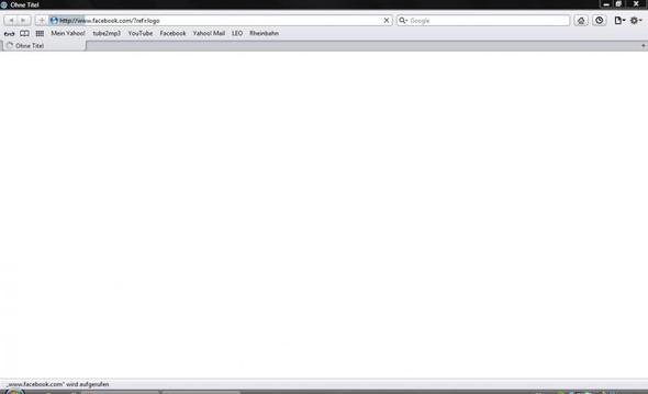 So siehts dann aus - (Browser, Safari)