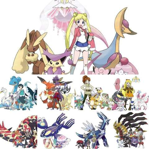 Sailor Team als Pokémon?