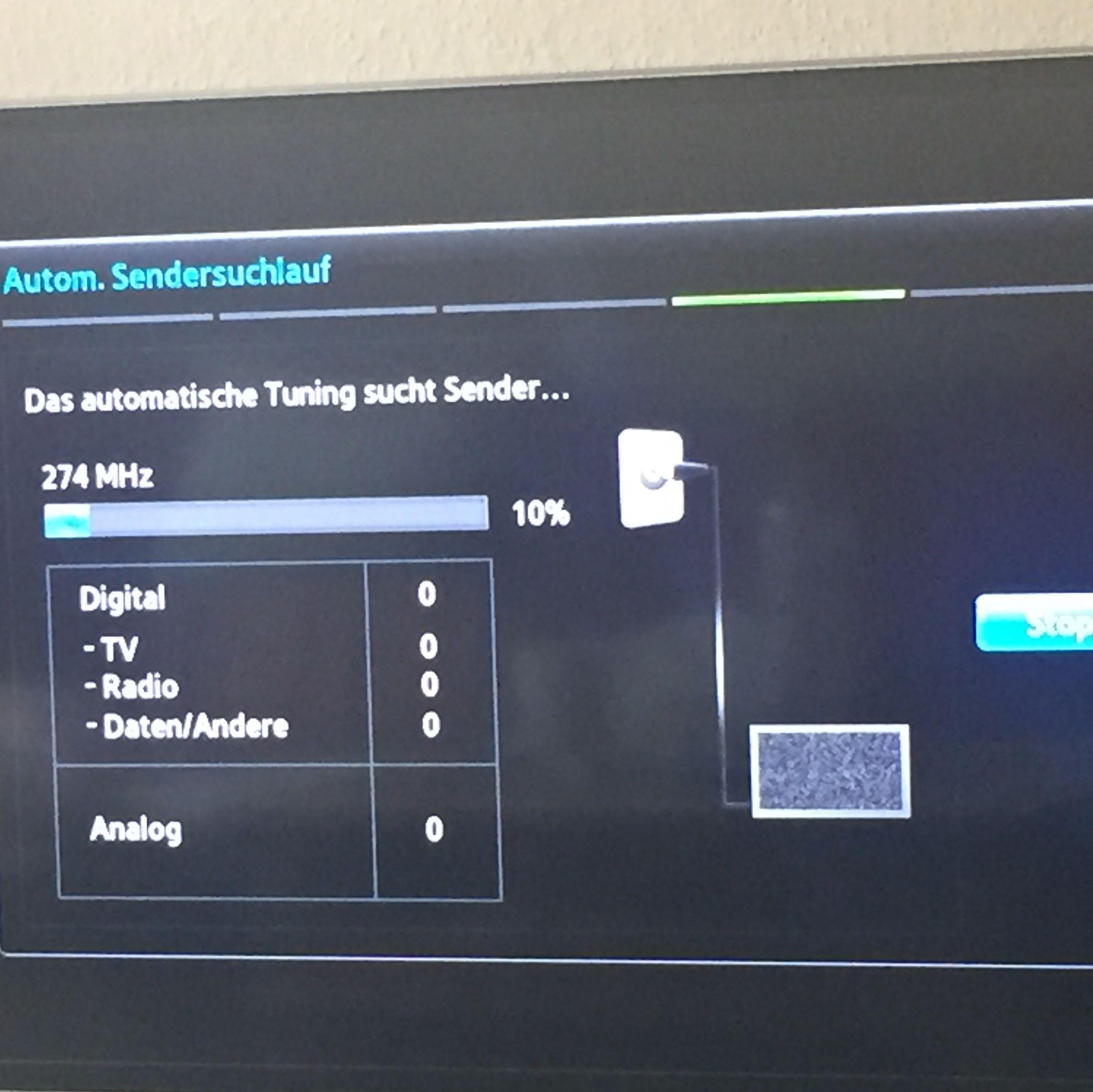 Lg fernseher findet keine sender kabel
