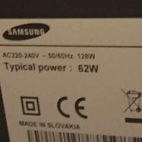 Das Modell  - (Samsung, Fernseher)