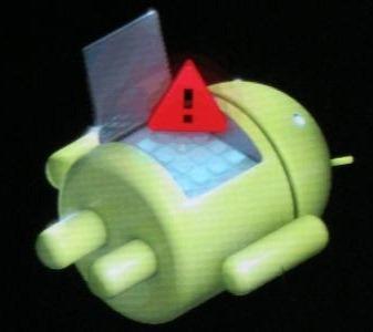 symbol, welches oberhalb des Displays aufschien - (Handy, galaxy, S3)