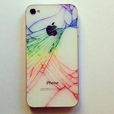 iPhone backcover farbe - (färben, Samsung Galaxy S3, Risse im Handy)