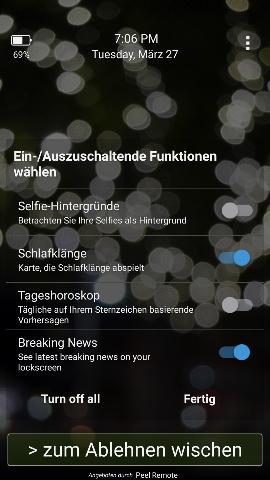 Android Dauernd Werbung