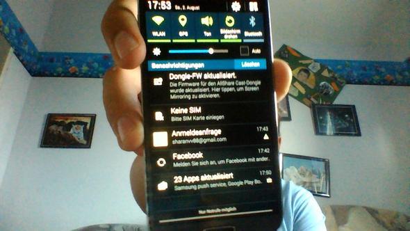 sim karte wird nicht erkannt Samsung galaxy s4 (I19505): Sim Karte wird nicht erkannt (Handy)