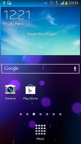 Screenshot - (Handy, Einstellungen)