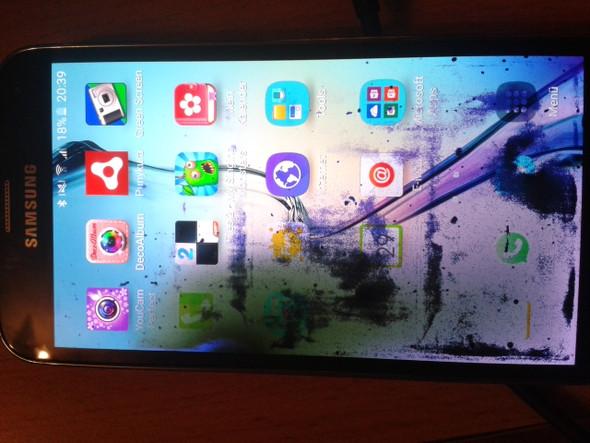 Mein drei Monate altes S5 neo :( - (Handy, Smartphone, kaputt)