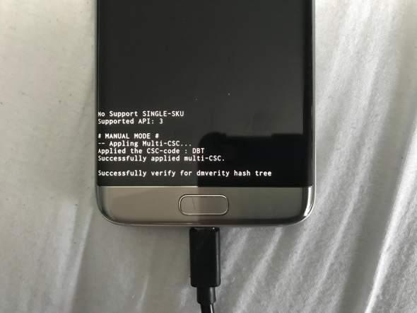 Samsung Galaxy s7 Edge startet nicht mehr. Was tun?
