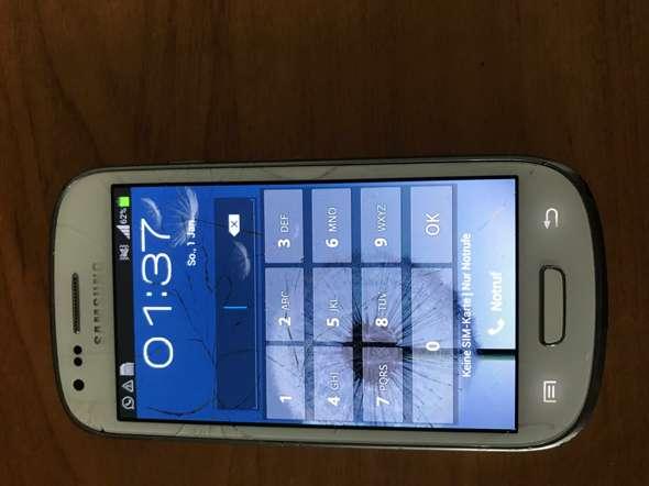 Samsung S3 Mini Sim Karte.Samsung S3 Mini Pin Vergessen Handy Smartphone
