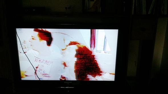 unscharf - (Fernseher, defekt)