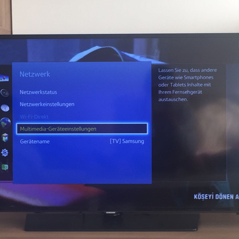 Samsung Tv Series 5 Handy Verbinden Internet Iphone Wlan