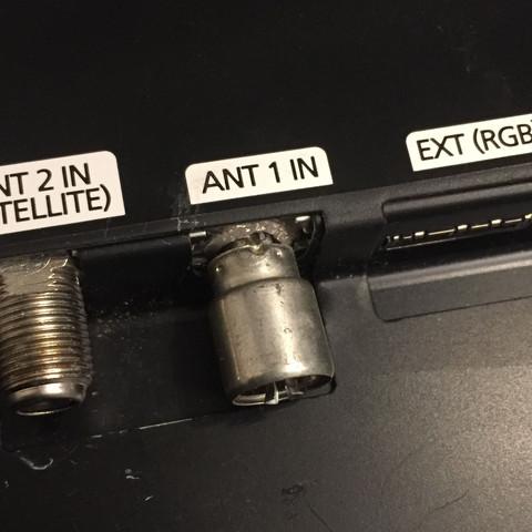 ANT1 IN - (Samsung, TV, Anschlussdefekt)