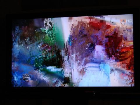 Fernsehbild Verpixelt
