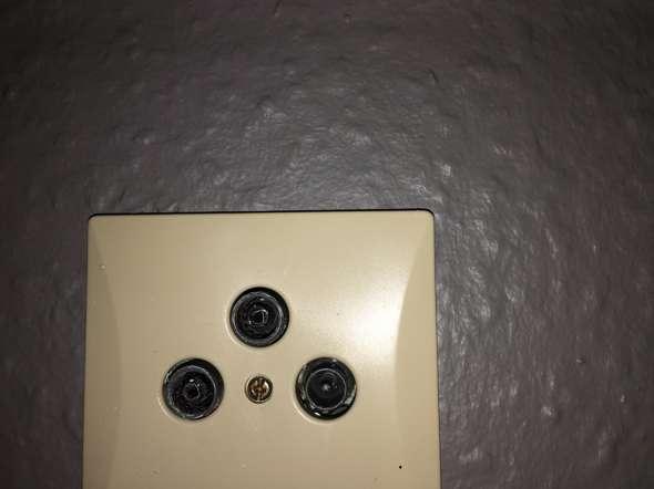 Sat Kabel passt nicht in Anschluss?