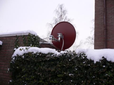 satelitenschüßel - (Nachbarn, satellitenschüssel)
