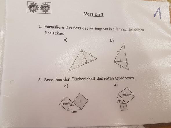 - (Schule, Mathematik, Hausaufgaben)